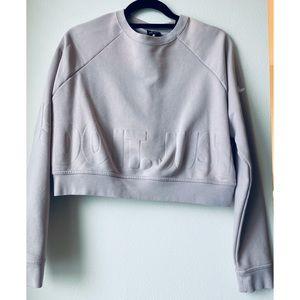 Nike cropped active sweatshirt